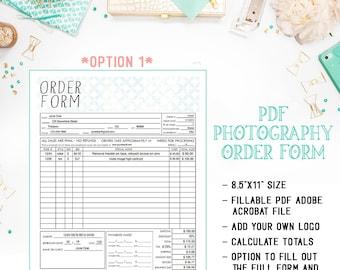 sales order form templates