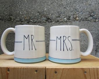 Custom Wedding Mug Set
