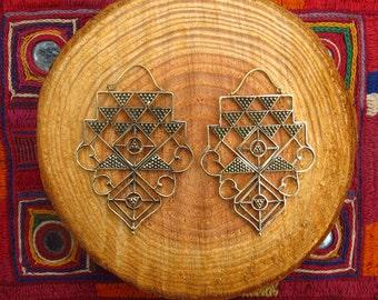 Earrings - sacred geometry