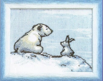 Cross Stitch Kit Chat
