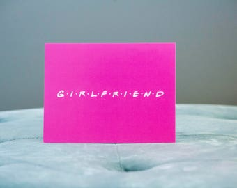 Girlfriend V-Day card