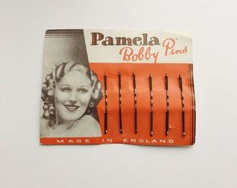 1930s Pamela bobby pins