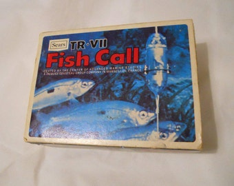 A Vintage Working Sears TR-VII FishCall Transistorized Fish Call
