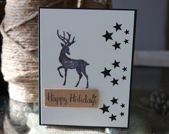 Christmas cards, Happy Holiday, Holiday cards,Handmade