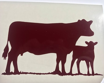 Cows decal