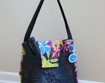 NEW NEW Pickleball Bag or Medium Tennis Bag !! made to Order!