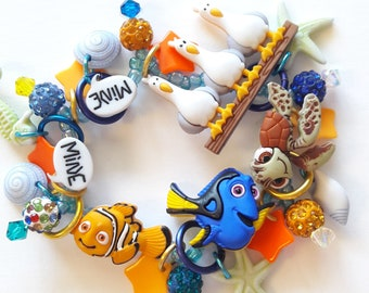 Finding Nemo bracelet/Disney/Beadiebracelet
