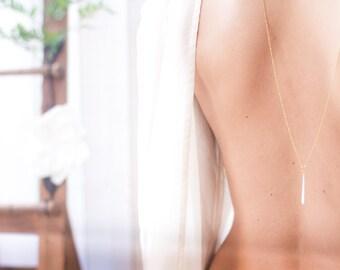 DESTASH white drop necklace