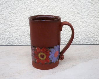 """Coffee tea cup of the series """"Mocca"""", ceramics"""