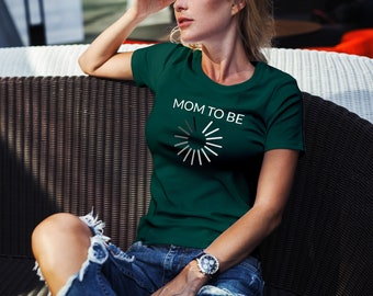 Mom To be shirt, mom shirt, pregnancy shirt, mother shirt, pregnant shirt, baby loading shirt, mom to be tee
