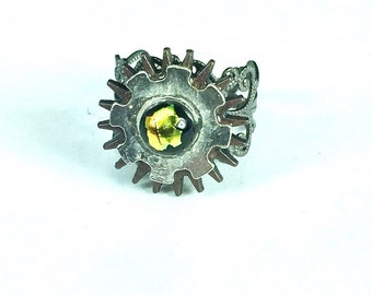 Gear  Steampunk Ring