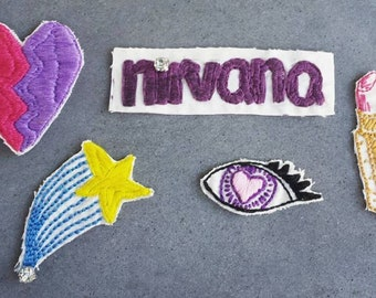 Nirvana Collection - 4 Patches