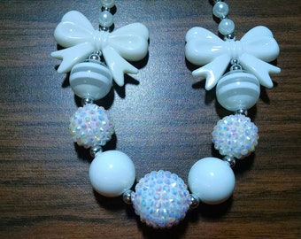 Valentine's Day Chunky Bubblegum Gumball Necklace