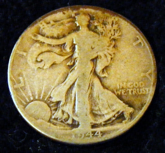 1944 LIBERTY WALKING HALF Dollar . . Great Investment . .
