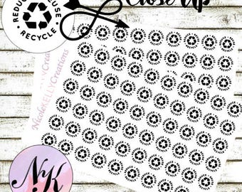 60 Recycle Stickers, Stickers,recycle, Trash sticker, use with Erin Condren Planner(TM),Happy Planner,planner,Traveler NB