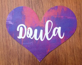 Doula Fridge or Car Magnet