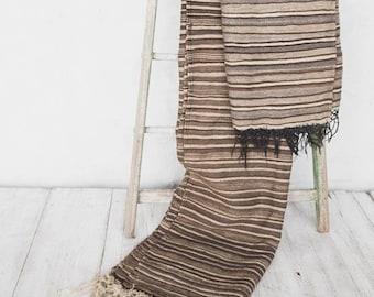 Vintage Camel Blanket