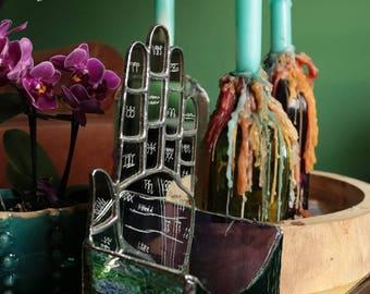 Palmistry Tealight holder