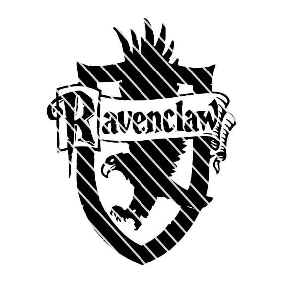 Harry Potter Ravenclaw Crest Simple Svg File