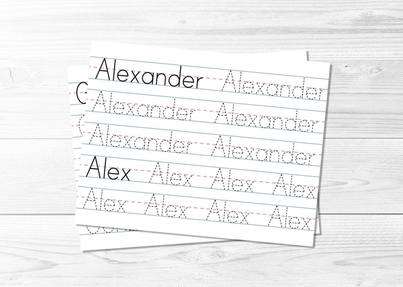 Workbooks tracing worksheets for kindergarten : Tracing-name-worksheets & Name Tracing Worksheets For Kindergarten ...