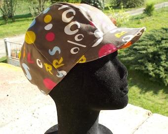 Summer cap style Japanese cotton