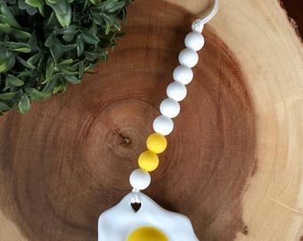 Fried Egg Teether