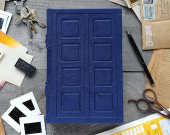 River song's diary, handmade genuine leather journal, handcrafted lambskin sketchbook, geek art book