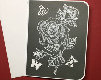 Roses n Butterflies (A2)
