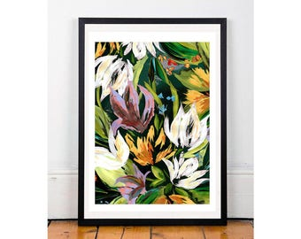 Floral Bouquet A4 Giclee print