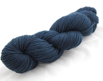 All Nighter - Thesis, Hand Dyed Superwash Merino Cashmere Nylon (MCN) Sock Yarn