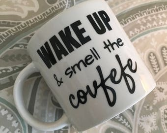 Wake Up and Smell The Covfefe Mug (LIGHTER version with CHEAPER SHIPPING)