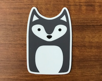 Wolf Sticker - Animal Laptop Stickers - Die-cut Vinyl Stickers - Cute Animals Waterproof