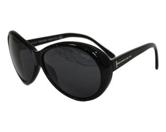 Tom Ford Sunglasses Geraldine TF 202 Vintage Black