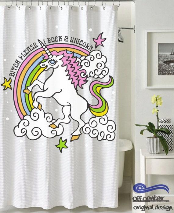 Designer Duschvorhänge benutzerdefinierte dusche vorhang einhorn duschvorhang
