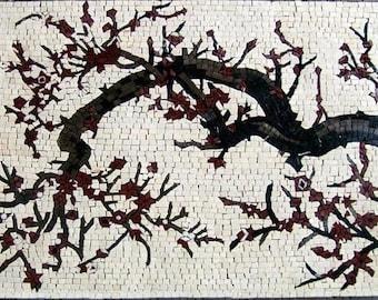 Tree Trunk Mosaic