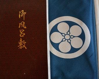 Furoshiki, Japanese silk furoshiki eco gift wrapping cloth, boxed