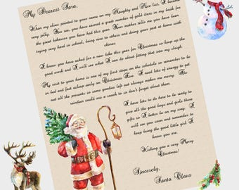 Printable santa letter kids christmas behavior alert santa letter santa letter printable santa letter for kids christmas printables santa spiritdancerdesigns