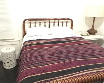 Vintage woven textile, 50's