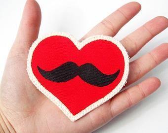 Moustache Love Pin