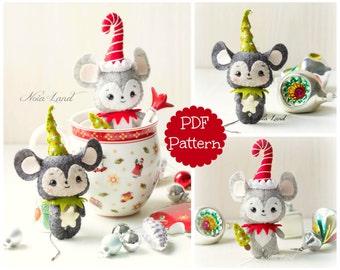 Mouselves. Mice Christmas (PDF Pattern)