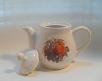 Vintage Fruit Garden Teapot in Original Box