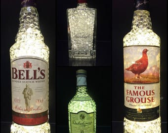 Whiskey lamps bells bottle lamp remote lamps grouse bottle lamp whisky lamps