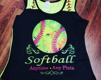 Softball Tanktop