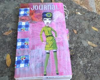 Altered Art Journal Extra Large Paper Bag Scrapbook Journal