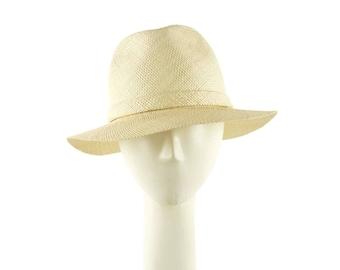 Womens Straw Hat, Panama Hat, Straw Fedora Hat, Womens Hat, Summer Hat for Women, Ladies Sun Hat, Womens Summer Hat, Womens Fedora, Golf Hat