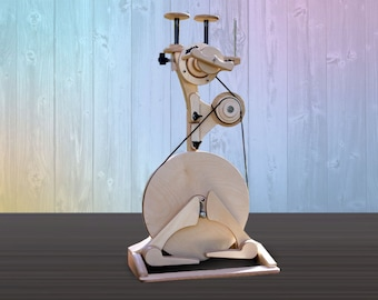Pollywog SpinOlution Spinning Wheel - tiny wheel for traveling and children - select the package that is right for you