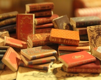 Miniature book . Set of assorted books ...55 pcs
