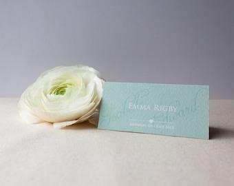 EMILY // Wedding Stationery // Place Card