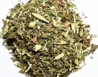 SWEET MINT | Artisan Herbal Tea Blend | Organic | Loose Leaf or Tea Bags | Tea Tin | Iced Tea | Eco-Friendly