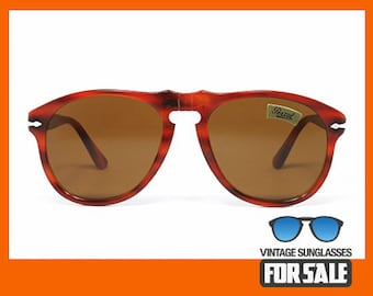 Vintage sunglasses Persol 649/5A col. 97 original made in Italy 1988